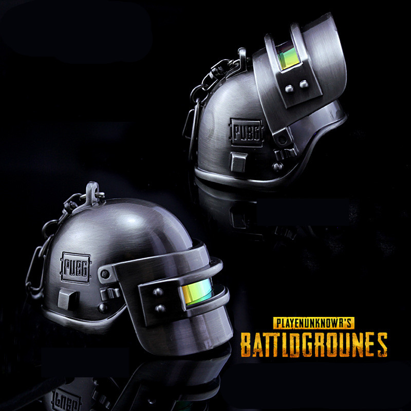 Game Playerunknown's Battlegrounds Pubg Special Forces Helm Cosplay Props Armor Niveau 3 Helm Sleutelhanger Sleutelhanger Hanger Speelgoed Firm In Structuur