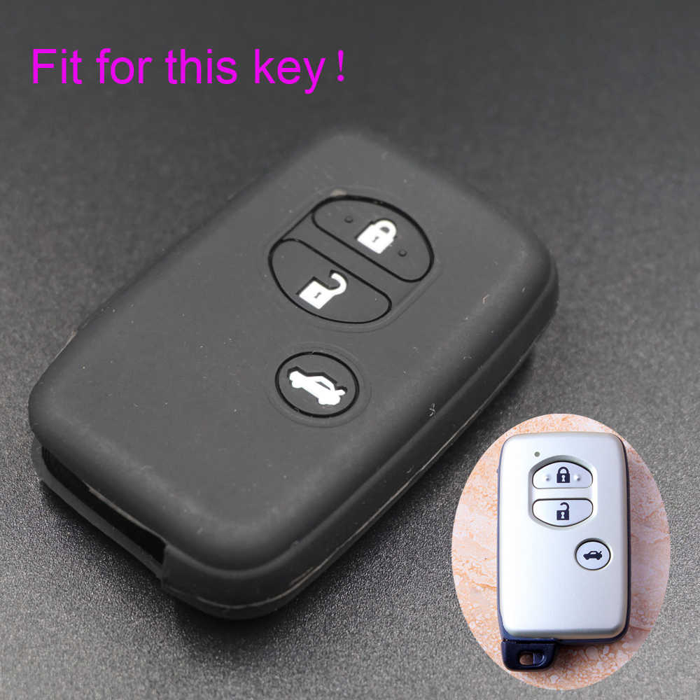 Detail Feedback Questions About Xinyuexin Silicone Car Key Cover Toyota Land Cruiser Case For Camry Highlander Crown Prado Prius Remote