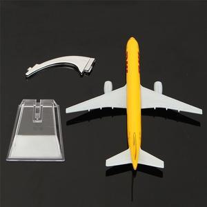 Image 5 - B757 DHL Kargo 16CM מתכת מטוס דגם מטוס מודל מטוסי דגם בניין ערכות צעצוע לילדים