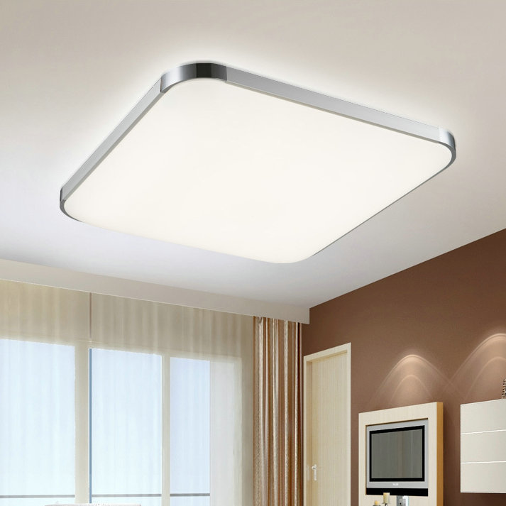 Lamparas techo led lampara techo cristal led bracket w - Luces de techo led ...