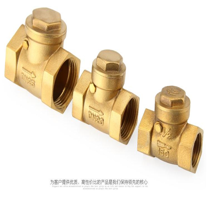 Horizontal check valve Full copper check valve 4 minutes 6 minutes 1 inch DN50 in Valves Parts from Automobiles Motorcycles