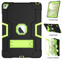 New Armor Case For iPad2 iPad3 iPad4 Kids Safe Heavy Duty Silicone Hard Cover For Ipad  4 3 2 iPad 3 2 Tablet Case(China)