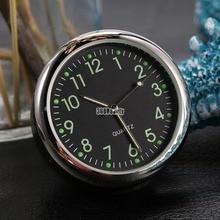 Mini Car clock in Car Luminova Mechanics Quartz Clock Car Watch Digital clock Automobile Clock Accesorios Automovil Car Styling