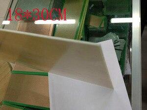 Image 2 - Livraison gratuite 2pc 18*30cm 1.6 épaisseur simple face fiber de verre cuivre plaqué FR4 FRP conseil PCB conseil