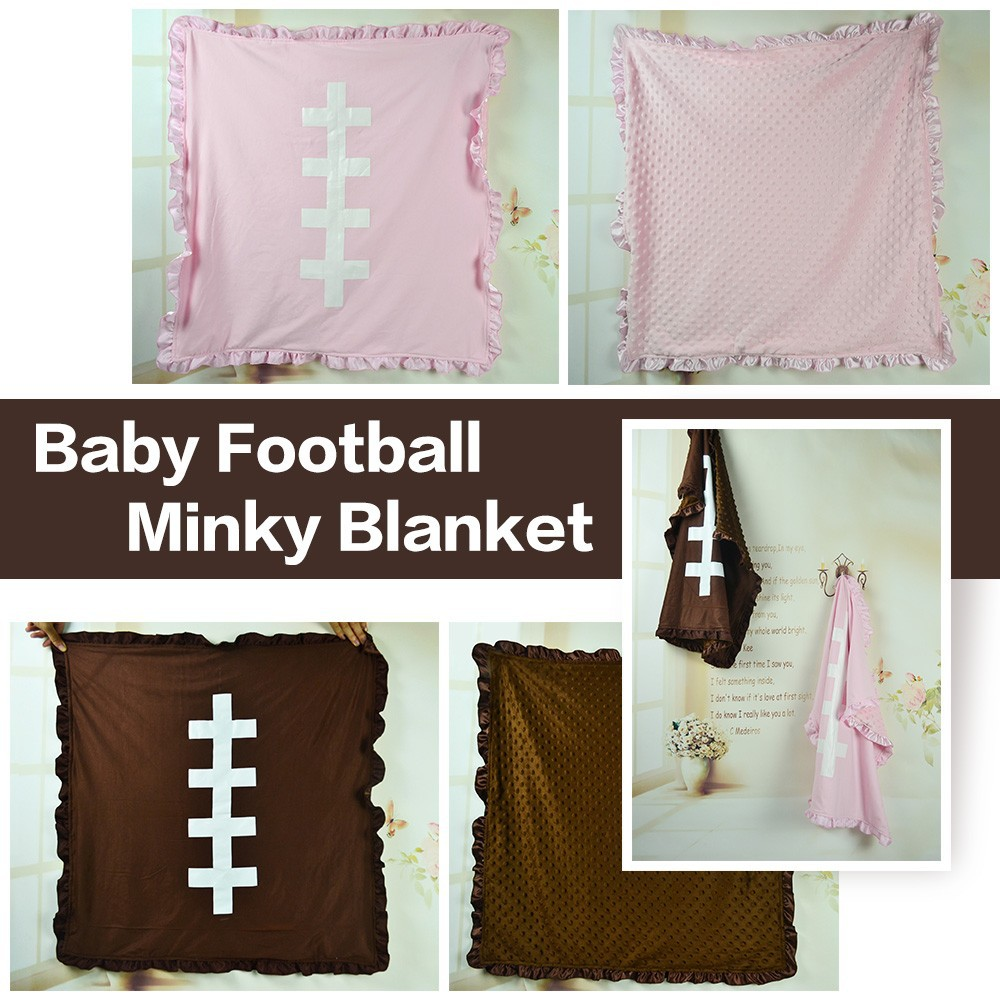 baby-football-Minky-blanket