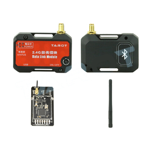 US $50 12 |Tarot ZYX BD 2 4G Bluetooth Data Transmission Module with 5 8G  Antenna for ZYX M Flight Controller Quadcopter Drone RC FPV ZYX27-in Parts  &