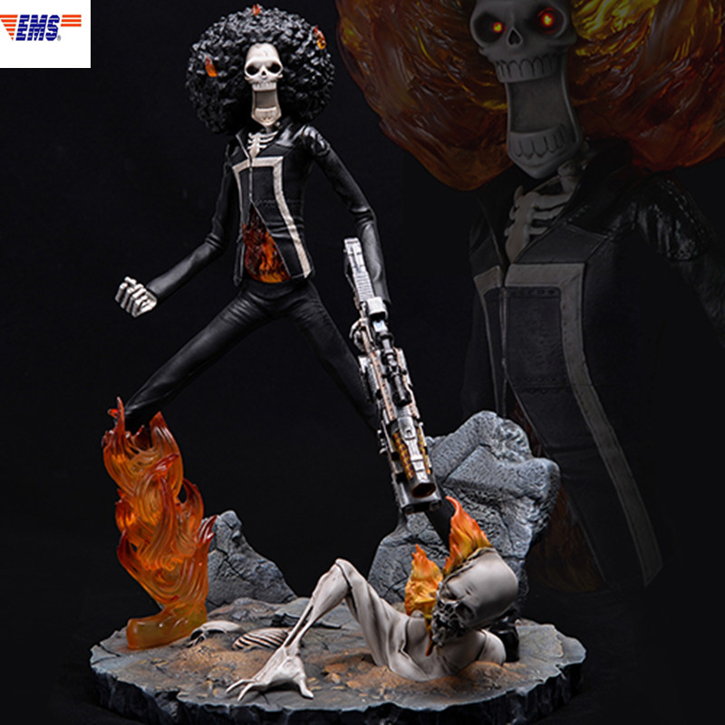 Avengers:Infinity War Ghost Rider Jonathan Blaze BROOK Resin Statue Action Figure Collection Model Toy X1190Avengers:Infinity War Ghost Rider Jonathan Blaze BROOK Resin Statue Action Figure Collection Model Toy X1190