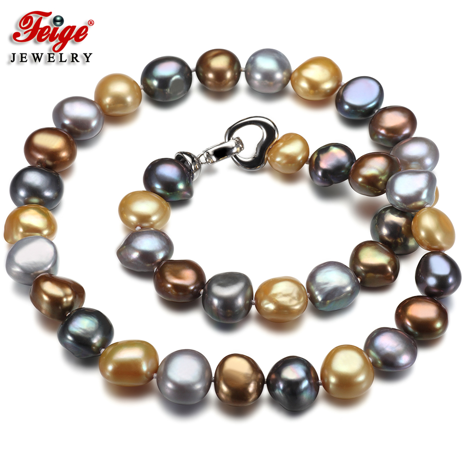 Pearl Jewelry Vintage Style Choker Necklace For Women