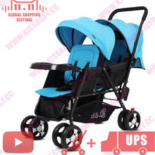 foldable Peg Perego Duette twin baby stroller Joovy Big Caboose poussette