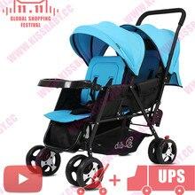 twin travel ultra light foldable sleeping baby stroller poussette