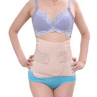 Postpartum Recovery Belly Belt Weight Loss Body Tummy Wrap Corset Girdle Body Trainer Shaper Belly Belt