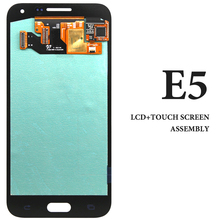 3pcs For Samsung E5 E500 E500M E500F E500H LCD 5 Inch Blue White Gold High Screen Assembly Smartphone Display Replacement Parts