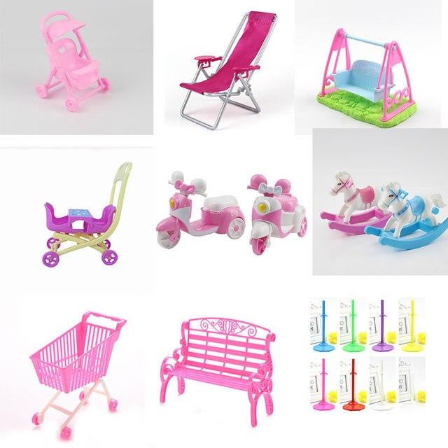 Carrito de cochecito de princesa Linda para niña niño regalo muñeca accesorios muebles Gadgets aprendizaje educación divertidos juguetes interesantes