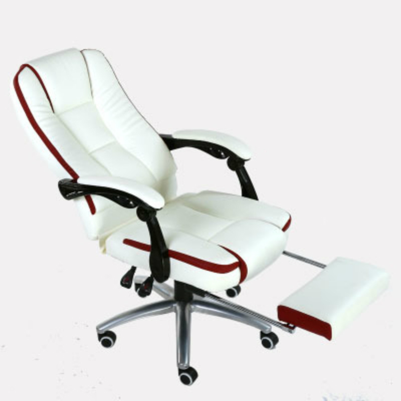 Household Computer Chair Massage Office Swivel Chair Ergonomics With Footrest Leisure Recliners Lift And Rotation Staff Chair