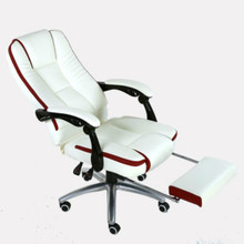 Household Computer Chair Massage Office Swivel Chair Ergonomics with Footrest Leisure Recliners Lift and Rotation Staff Chair(China)