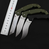 Brave Fighter 29UXTGH XL Folding Tactical Knife 55 57HRC D2 Blade Folding Knife Outdoor Pocket Survival