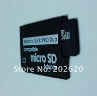 бесплатная доставка 50 шт./лот микро SD карты памяти TF для карты памяти мс про Дуо адаптер конвертер для ПСП