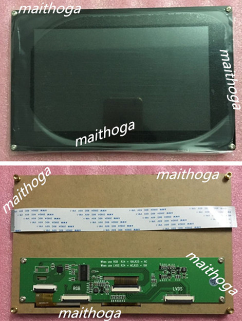 maithoga 7.0 inch 40P TFT LCD Module with Capacitive Touch Panel FT5206GE1 Controller 1024*3(RGB)*600 RGB/LVDS Interface-in LCD Modules from Electronic Components & Supplies    1
