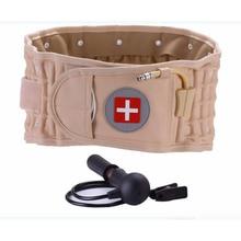 Фотография Back Massager Spinal Air Traction Belt Physio Decompression Back Belt Back Brace Back Pain Lower Lumbar Support Waist  Massage