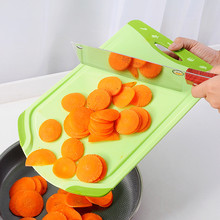 Multifunction portable thick plastic chopping block Non-slip cutting vegetable meat board kitchen cooking tools.
