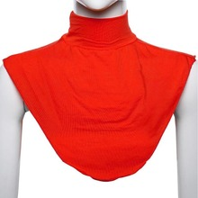 Islamic Hijab Extensions Neck Chest Back Cover Modal Scarf Half T Shirt Muslim