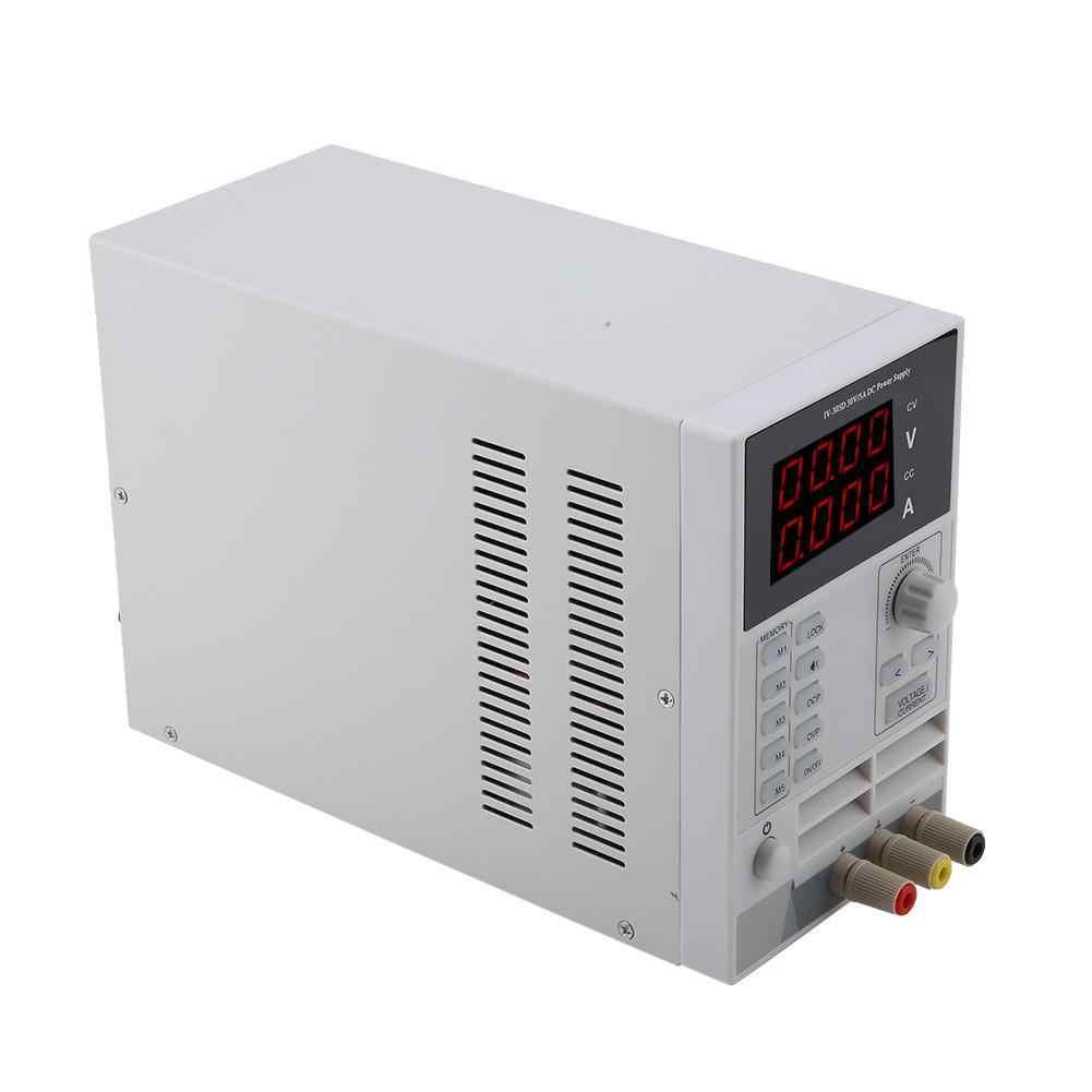 СВЕТОДИОДНЫЙ цифровой источник питания постоянного тока Тип хранения 30 в 5A регуляторы напряжения источник питания штепсельная вилка европейского стандарта 220 В