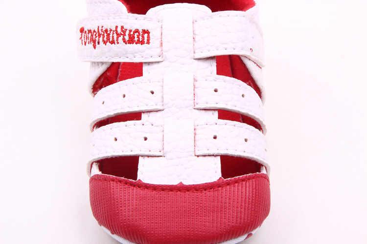 Moda verano calado zapatos para niños zapatos para bebés para niños niñas mocasines planos huecos Unisex Bebe zapatos deportivos zapatillas