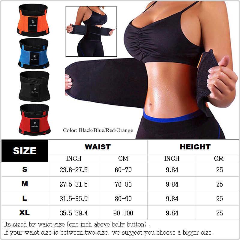 6dfb3de332 ... Women Men Sweat Belt Modeling Strap Hot Shaper Waist Cinchers Waist  Trainer Corset For Weight Loss ...