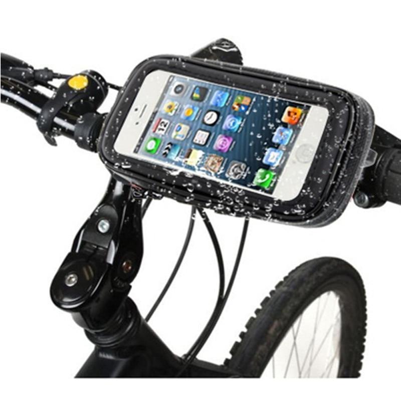 Waterproof Bike motorcycle Phone holder Mount For Huawei Samsung iPhone LG Smartphone GPS