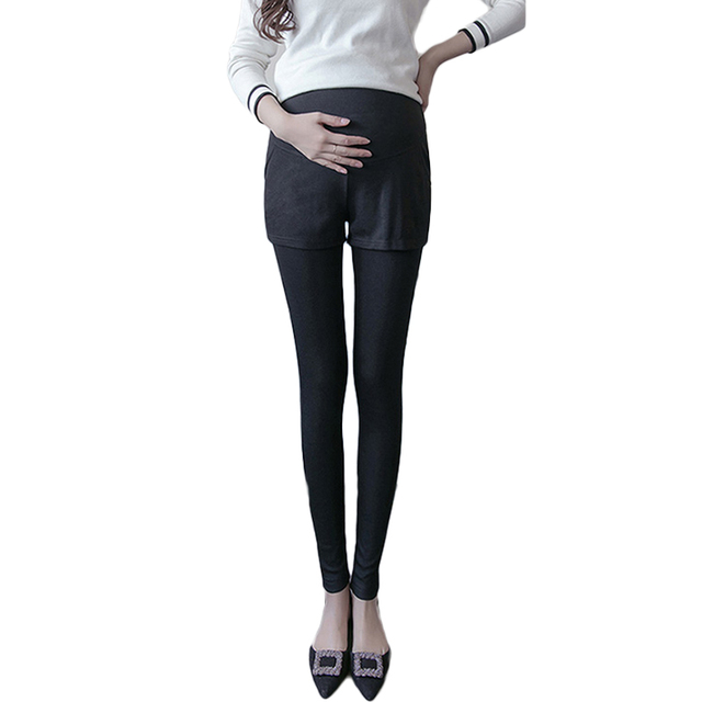 2017 tights spring leggings women pregnancy clothes maternity pants pregnant maternity leggings plus size trousers  3 Colour