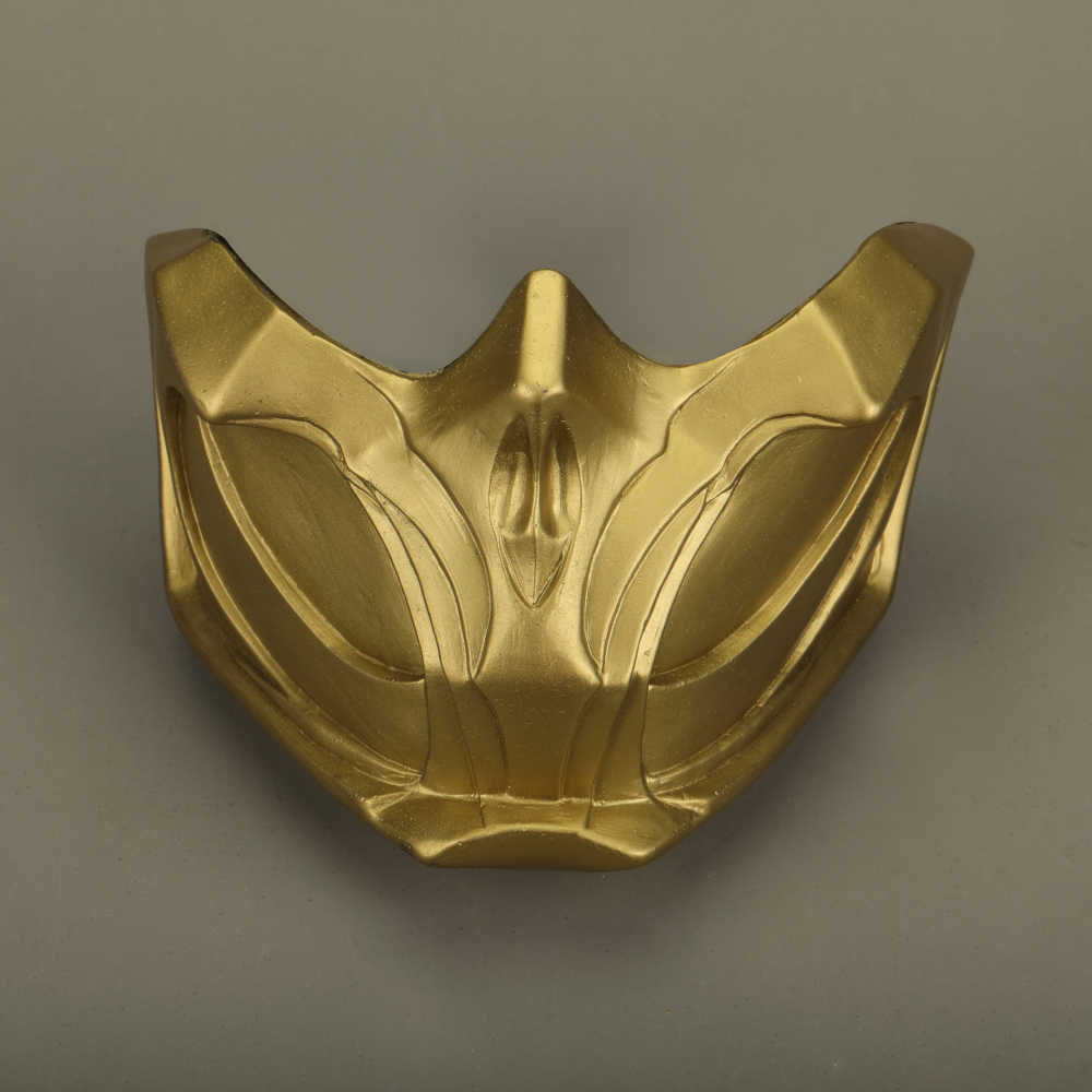 2019 Новые Маски Mortal Kombat X Scorpion Hanzo Hasashi Sandal, деревянные маски на половину лица, ПВХ маски для взрослых мужчин, маскарадные костюмы, маска на Хэллоуин