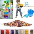 5000-10000 unidades/pacote 9-13mm colorido orbeez paintball gun bala nerf água crescer contas de água de cristal macio crescer bolas brinquedos pistola de água