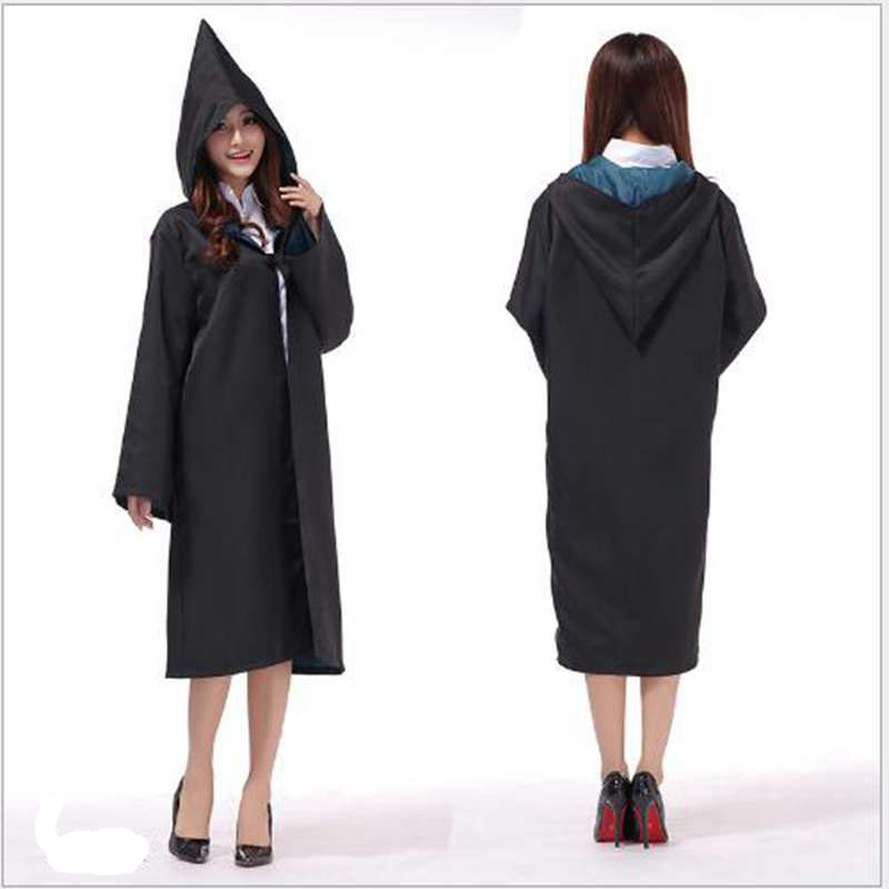 Halloween Cosplay Costumes Magic Clothes Harry Potter Magic Robe Harry's Cloak Gryffindor COS Clothing Uniforms