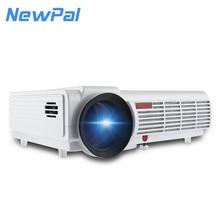 5000 lumen 3D Home Projektor Unterstützung 1920*1080 Pixel Video TV Android WIFI Projektor Mit Freies 3d-brille