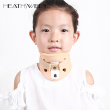 Healthsweet Child Torticollis Orthotics Neck Cervical Traction Collar Neck Nursing Support Crooked Migraine Braces Corrector