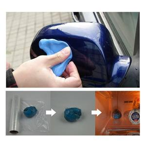 Image 2 - 自動 Doek 車粘土棒 100 グラムマジックマジックカークリーンクレイバーの自動ツールで収納ボックス車両と洗濯粘土ミット