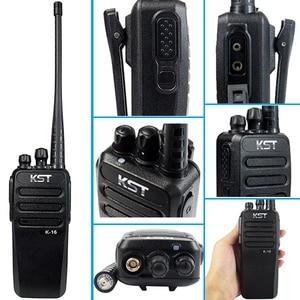 Image 5 - Walkie Talkie KST K16 10KM, 16W, Radio bidireccional, portátil, transceptor FM de largo alcance con batería de 4000Mah