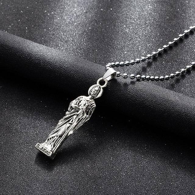 SJudas Priest suspension pendantnecklaces long choker chain for