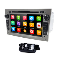 2Din Radio Car DVD Multimedia Player Fit Opel Vectra Corsa D Astra H Steering Wheel Android