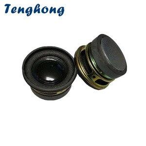 Image 1 - Alto falantes tenghong 2 peças 40mm, escala completa, 4ohm 3w, unidade de áudio portátil, bolha redonda para home theater alto falante bluetooth,