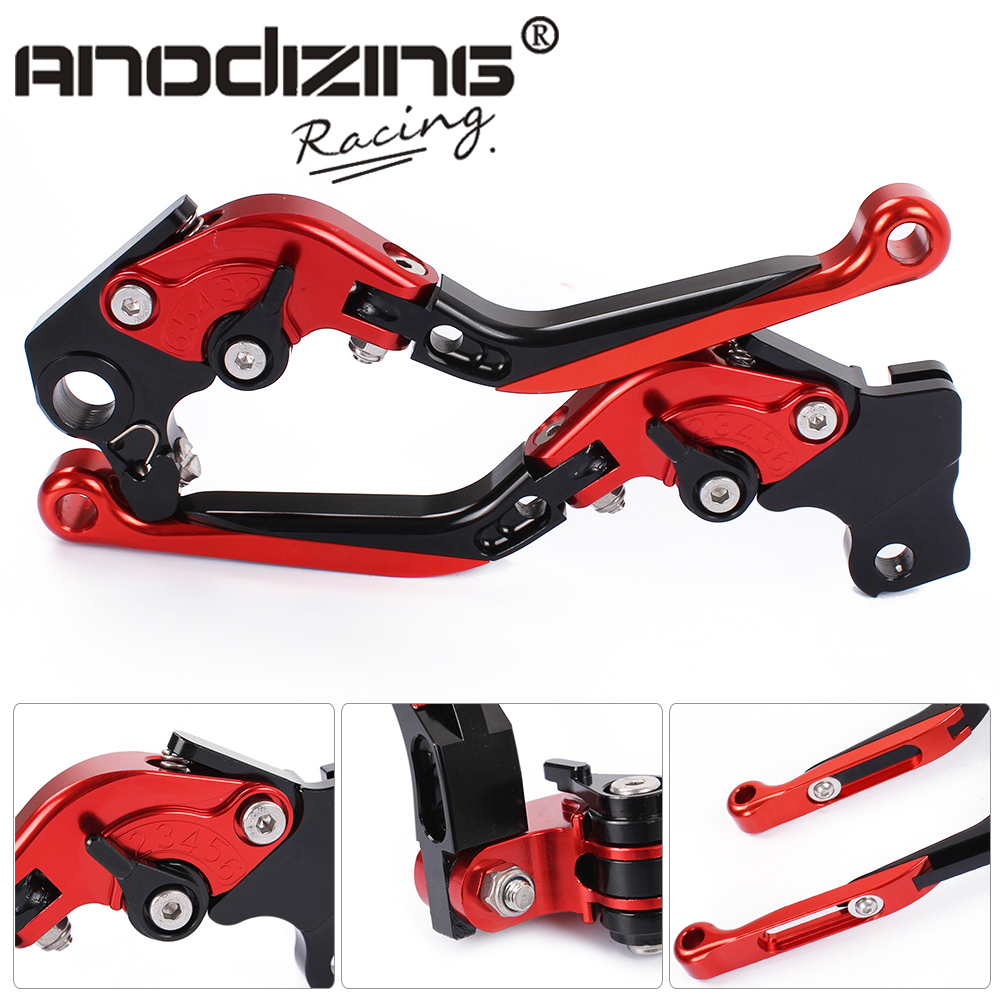 DB-12/D-82 Adjustable CNC 3D Extendable Folding Brake Clutch Levers For DUCATI 797 MONSTER 2017 821 MONSTER/Dark/Stripe 14-17 adjustable billet extendable folding brake clutch levers for bimota db 5 s r 1100 2006 11 07 09 10 db 7 08 11 db 8 1200 08 11
