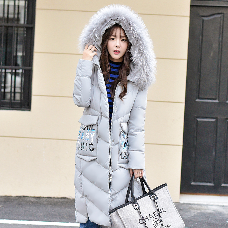 Raton Le Veste Manteau Femelle Duvet Canard St267 Zipper Grey Femmes Laveur Blanc Neige Fourrure D'hiver Ayunsue Marque Bas De Porter Réel Col Parka Vers PkZXuTOi