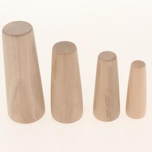 Image 3 - Bouchons de bois 10 pièces/7 tailles