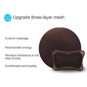 Image 5 - Neck Massager Car Home Cervical Shiatsu Massage Neck Back Waist Body Electric Multifunctional Massage Pillow Cushion