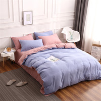 Fashion bedding sets bed linen Simple Style duvet cover flat sheet Bedding Set Winter Full King Single Queen,bed set 2019