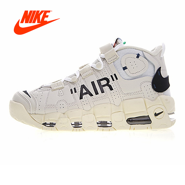 a29b5f2176342 Novedad Original auténtico Nike Air más Uptempo hombres zapatillas de baloncesto  deporte al aire libre buena