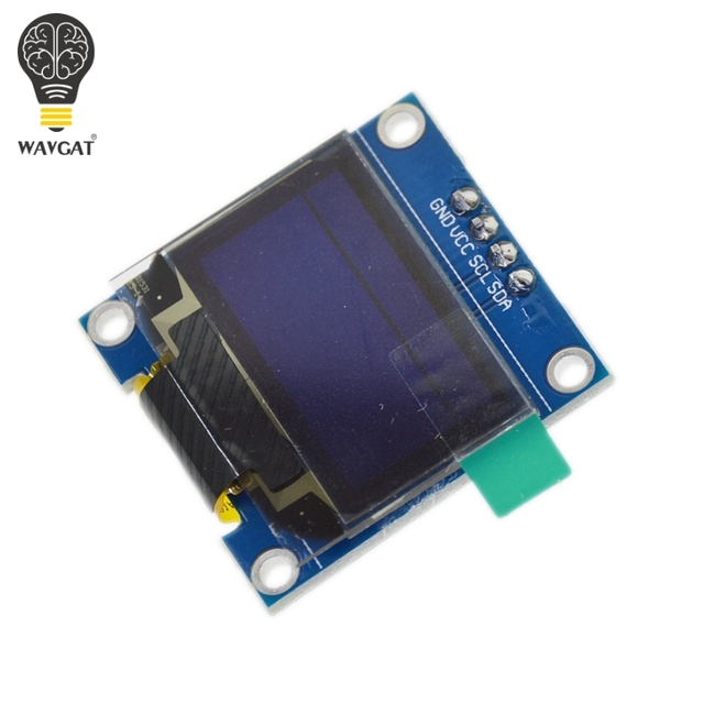 "0.96 inch OLED IIC Serial White Display Module 128X64 I2C SSD1306 12864 LCD Screen Board GND VCC SCL SDA 0.96"" for Arduino Black 3"