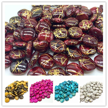 New 50pcs/lot 12mm Acrylic Beads Spacer Loose Beads For Jewelry Making DIY Bracelet Earring