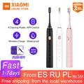 Xiao mi jia зубная щетка Soocare X3 X3s Soocas модернизированная электрическая звуковая умная Bluetooth Водонепроницаемая беспроводная зарядка mi Home APP