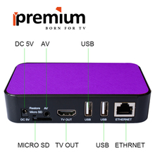 5pcs Original Ipremium Tvonline+ Android Tv box Smart Iptv Set Top Box Receptor Decoder Tv Receiver